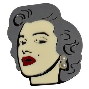 NEW Modcloth Collectif Marylin Monroe Brooch